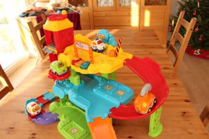 Playing With VTech Go Go Smart Wheels Is Tons Of Fun