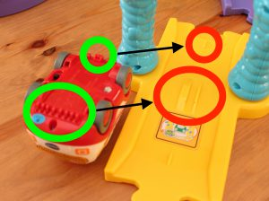 VTech Go Go Smart Wheels Smart Points And Micro Switches