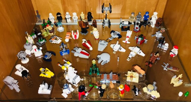 Lego Star Wars Advent Calendar Mini-Fig and Mini-Model-Collection