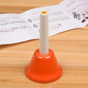 8-Note Diatonic Note Musical Hand Bell Set