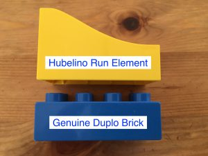 Hubelino Vs. Genuine Lego Duplo Comparison