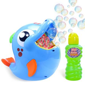 Bubble Machine Outside Toy for Toddlers