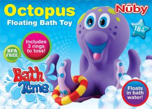 Octopus Hoopla Bathtime Fun Toys