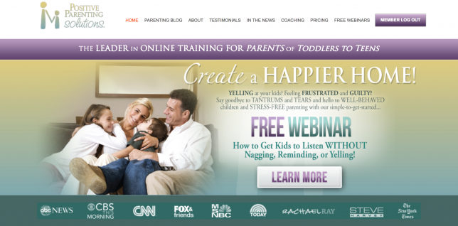 The Home Page Of Positive Parenting Solutions