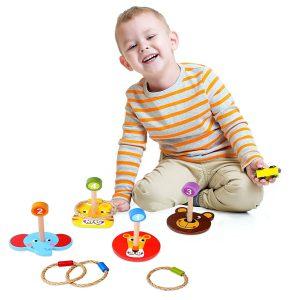 Ring Toss Games for Kids and Toddlers