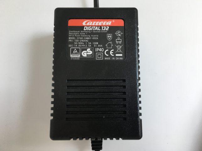Carrera Digital 132 Slot Racing Set - Power Adaptor