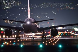 Night flights usually sync well with your toddlers inner clock