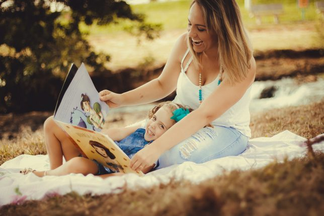 Reading Stories To Your Kid Is Different Than Just Talking