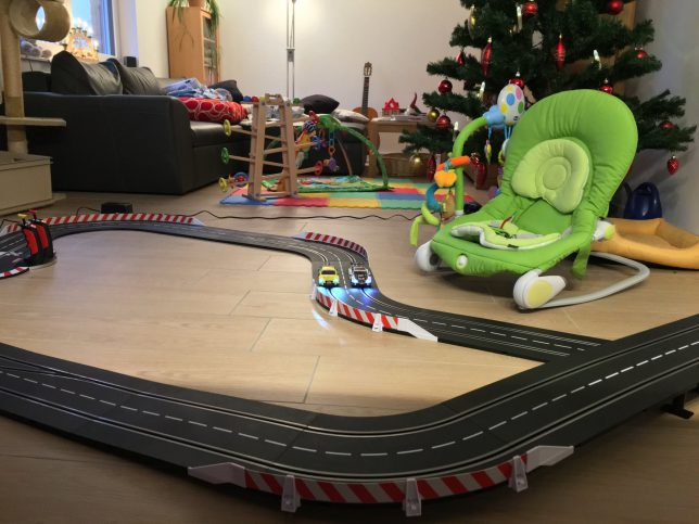 Slot Car Set For Kids