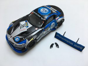Slot Cars - Small Parts Removed