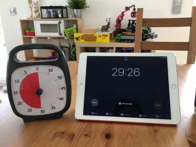 Time Timer Plus Review - Digital vs Analog 1