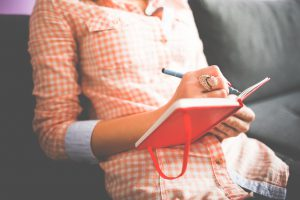 Try making journaling a daily habit
