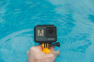Action cams are certainly rigid and waterproof