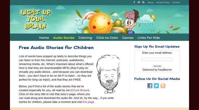 Free Audiobooks for Kids - Lightupyourbrain