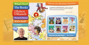 Free Audiobooks for Kids - Robert Munsch Website