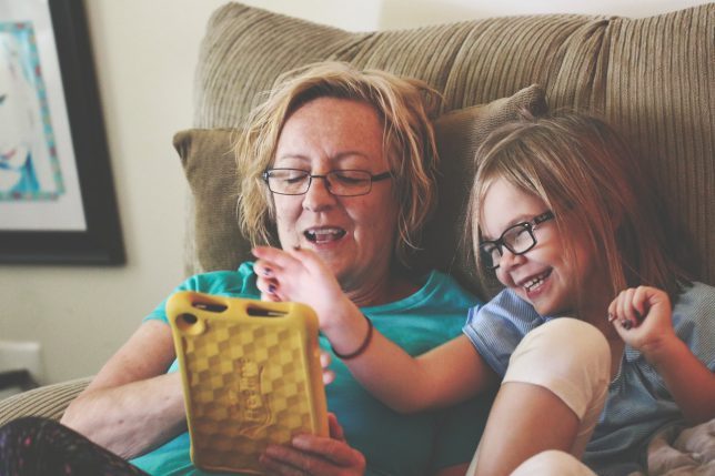 Try to spend screen time together - It is fun and both of you will most likely learn something new