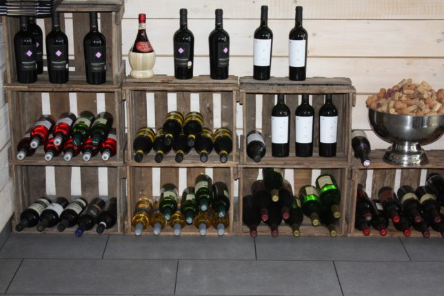 Fun Things to Do with Your Dad - How about building a wine rack