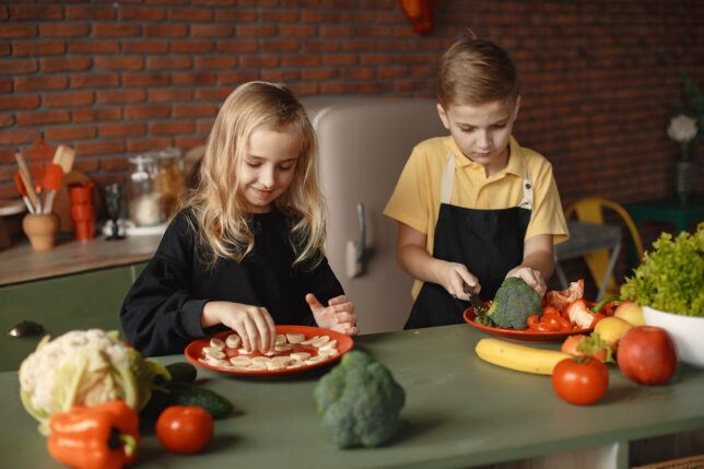 fun activities for families - in the kitchen