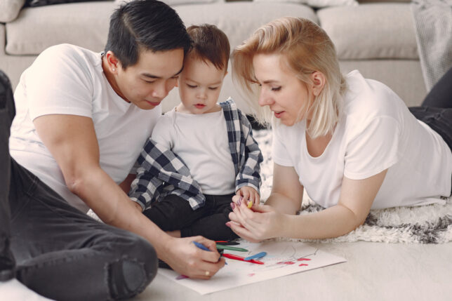 fun activities for families - painting and drawing