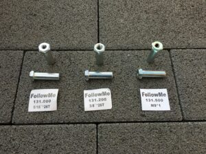 FollowMe Kid's Bike Front Axle Extensions in three different sizes...