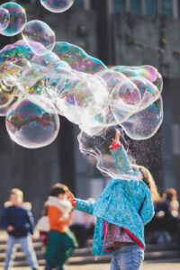 Fun Outdoor Activities for Toddlers - Super Bubbles