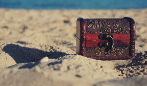 a treasure hunt adds a sense of adventure to your outdoor activities
