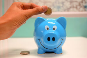 a piggy bank is a great place to start learning how to save money as a kid