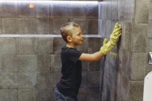 kids can perform simple jobs around the house that are not their usual chores to earn some cash